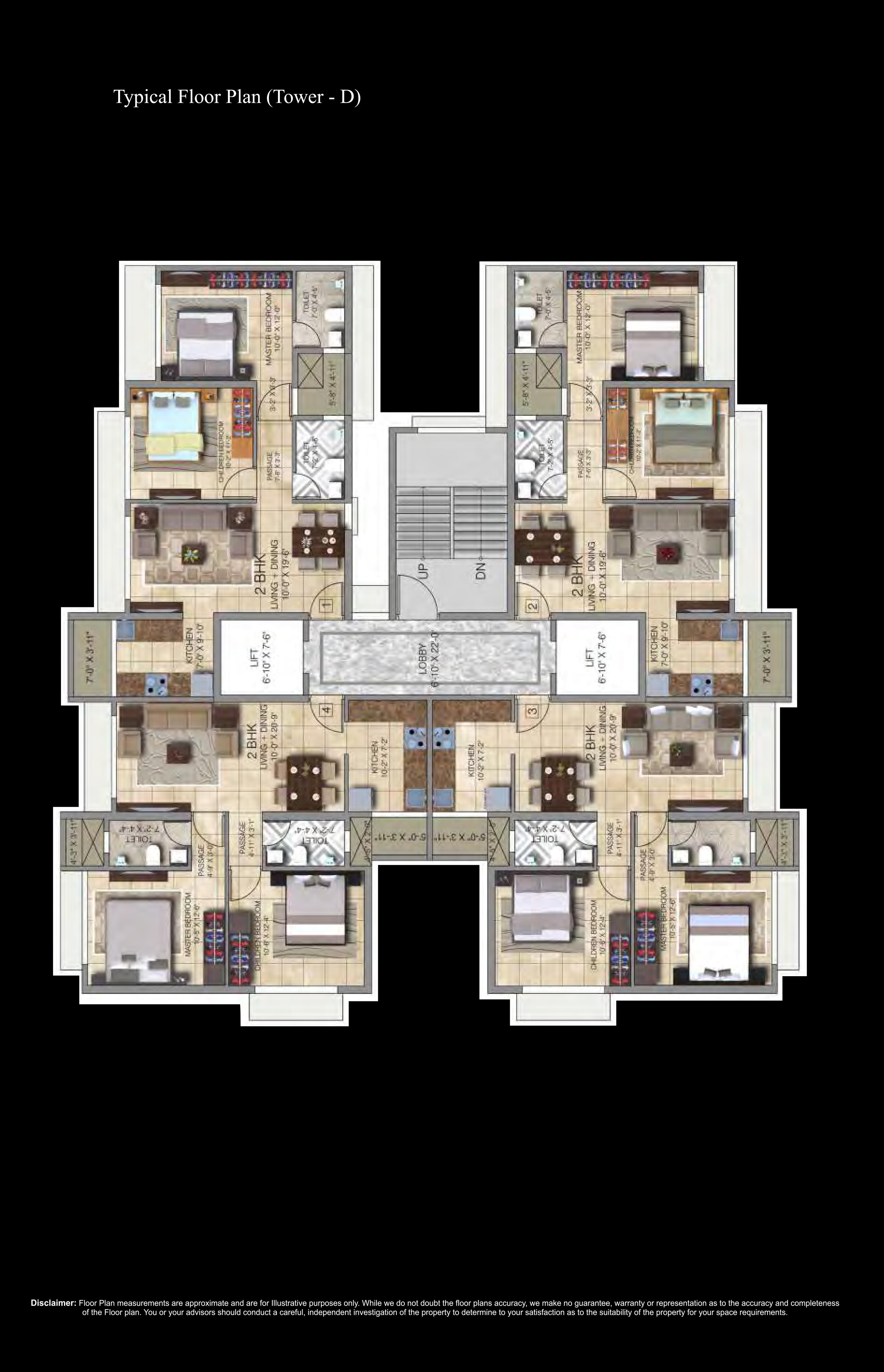 2 Bedroom Spacious Apartments At The Splendid Ananda Residency By Paradigm Dotom Realty Borivali Ishwar Estate Consultant