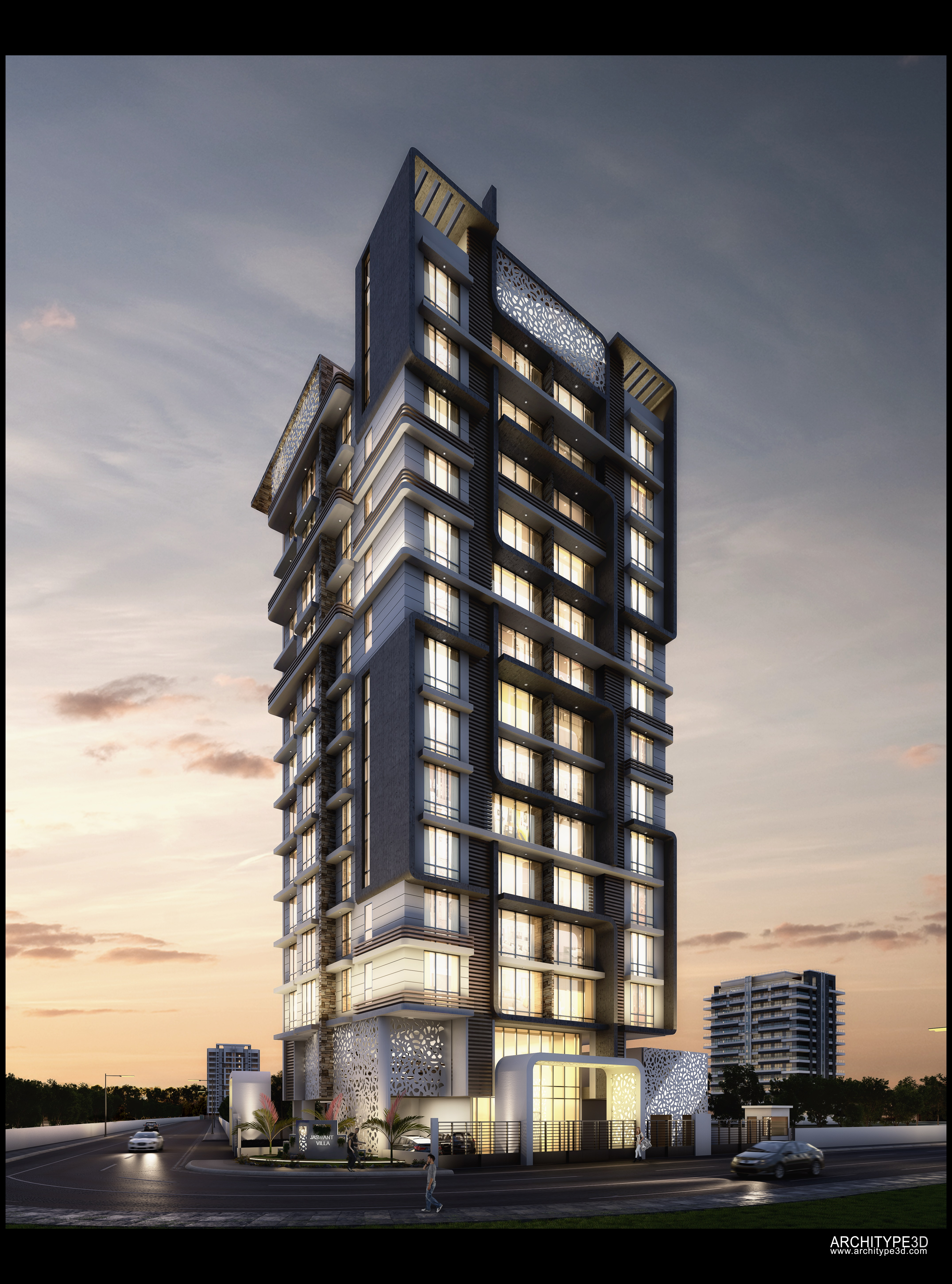 Extravagant 5 Bedroom Residences At Jaswant Heights By L