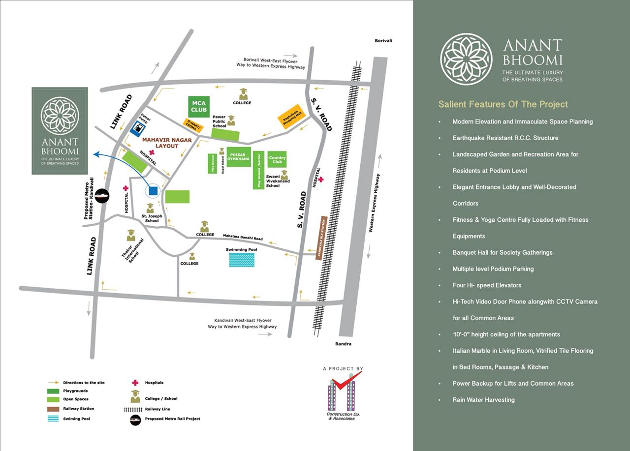 The Ultimate Luxury Of Breathing Space At Anant Bhoomi Knadivali West Ishwar Estate Consultant